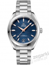 ZEGAREK OMEGA SEAMASTER AQUA TERRA 150M OMEGA CO-AXIAL MASTER CHRONOMETER LADIES 34 MM 220.10.34.20.03.001
