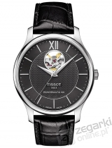 ZEGAREK TISSOT TRADITION AUTOMATIC OPEN HEART T063.907.16.058.00